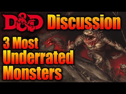 3 Most Under Rated Dungeons And Dragons Monsters D D Discussions