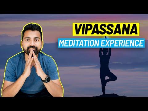 10-Day Vipassana Meditation Experience ❤️(Pushkar Centre Tour)