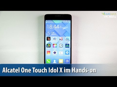 Alcatel One Touch Idol X im Hands-on - Lutz Herkners Video-Blog | deutsch / german