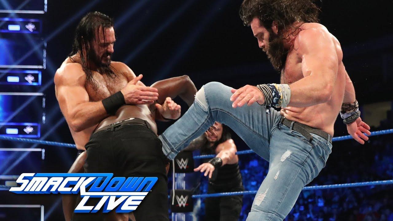Roman Reigns & R-Truth vs. Drew McIntyre & Elias: SmackDown LIVE, May 28, 2019