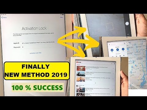 HOW to PERMANENTLY BYPASS iCLOUD ACTIVATION LOCK ON ALL IPAD IPHONE 100% SUCCESS | NEW METHOD 2019