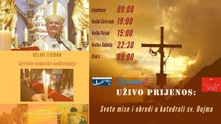 Misa Uživo - Katedrala S. Dujma 05.04.2020 9:00