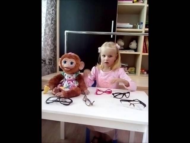 Изображение предпросмотра прочтения – АлисаРожкова читает произведение «Мартышка и очки» И.А.Крылова