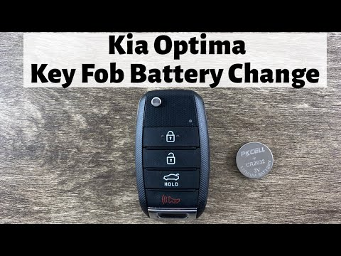 2016 – 2020 Kia Optima Key Fob Battery Replacement – How To Remove Replace Change Flip Remote