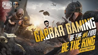 Gambar cover PUBG Mobile LIVE   GABBAR IS BACK   👑 BE THE KING 👑