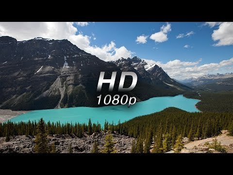 """Mountains of Majesty"" (w Music) 1 HR  Nature Relaxation™ Banff & Alberta  1080p"