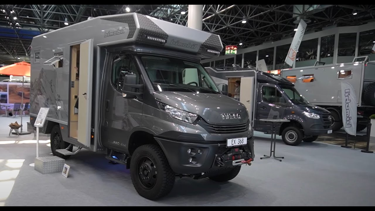 Männertraum: Bimobil 9 EX9 Iveco Daily 9 9x9. Expedition-Offroad  Motorhome. Wohnmobil 9.
