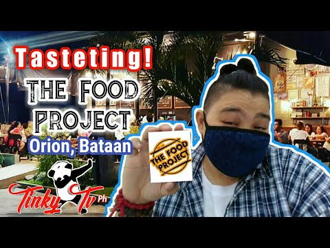 The Food Project | Bataan Food Trip | Tinky Tv Ph - Tasteting Time (Food Review)