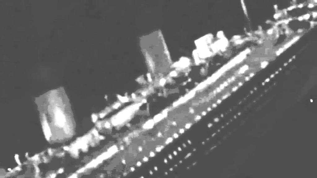 Real Titanic Sinking Footage Youtube