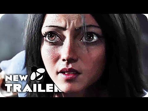 Alita: Battle Angel Trailer (2018) James Cameron Live Action Movie