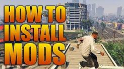 How to Install Mods for GTAV on PC (Grand Theft Auto 5 Mod Tutorial)
