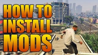 Tutorial on how to install mods for Grand Theft Auto V! Enjoy! GTA ...