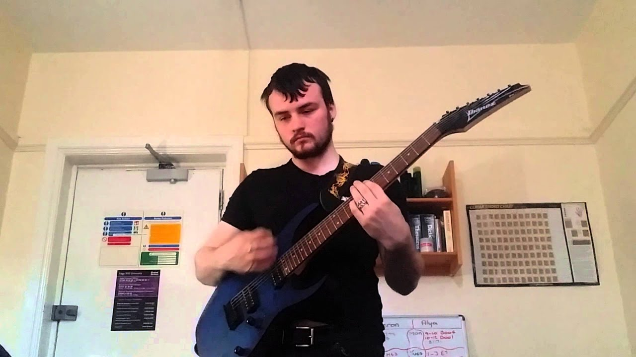 ibanez rg7421pb vicegrip original metal song youtube