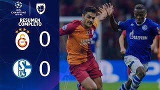 Galatasaray 0-0 Schalke 04 - RESUMEN - Grupo D UEFA Champions League