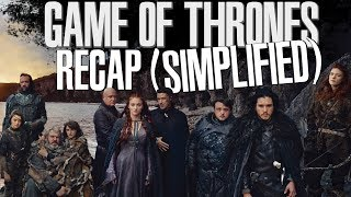 Game Of Thrones | Season 1 - 6 Recap (Simplified)