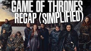 Game Of Thrones | Season 1 - 6 Recap (Simplified)