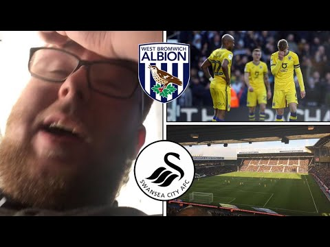 West Bromwich Albion 5 - 1 Swansea City | SMASHED BY THE BAGGIES! | Match Vlog #20