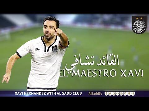 El Maestro Xavi .. القائد تشافي