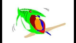 animation fish attack simple animation