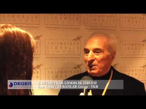 Fuat Turan - 1. Hizmetkâr Liderlik Zirvesi Röportajı