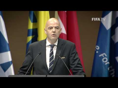 FIFA President Infantino speaks out