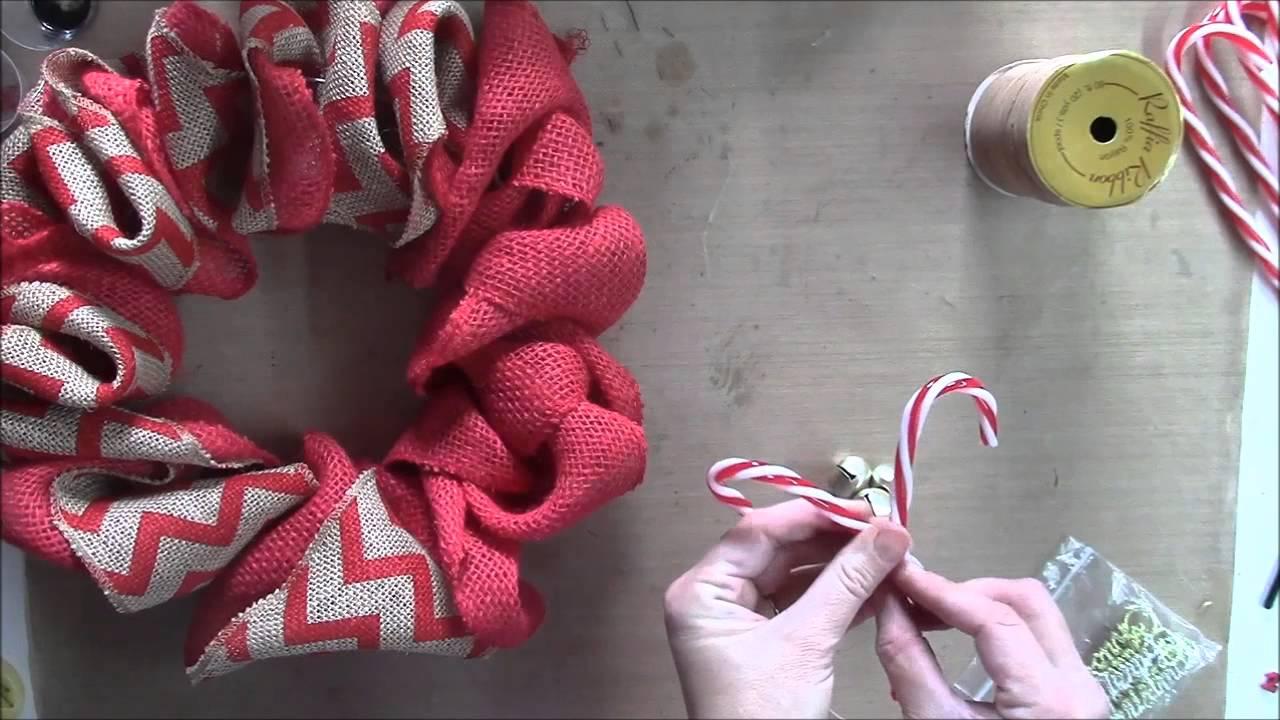 Ribbon wreath tutorial on wire hanger - Christmas Wreath Using Wire Hangers Dt Nov Ks4u