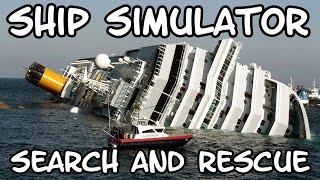 Finbar Plays Ship Simulator Maritime Search and Rescue!