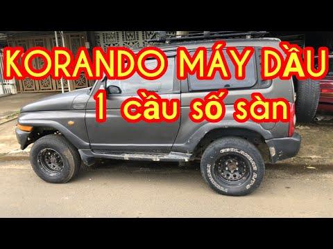 ssangyong korando đang về ô tô cũ gía rẻ @Ô TÔ DUY ANH Mobile