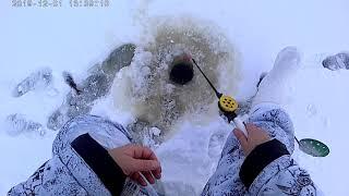 На рыбалку с Надеждой Озеро Лиг 1 12 2019