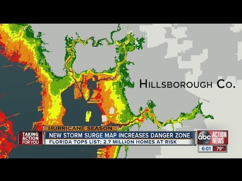Maps show Tampa Bay's storm surge vulnerability