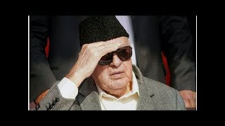 Farooq Abdullah Charged by CBI in Scam Linked to Jammu and Kashmir Cricket Association