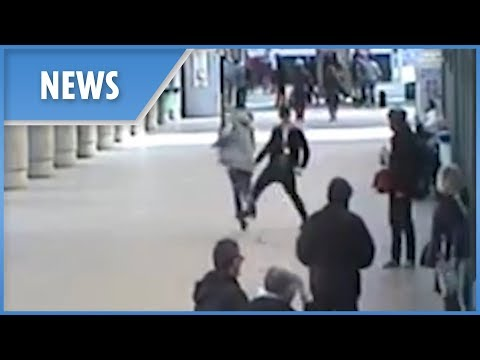 Tanner and Drew - Hero Bystander Tackles Charity Box Thief