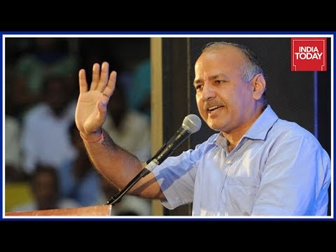 CBI At Manish Sisodia Residence Agency Records Delhi Deputy CM's Statement,