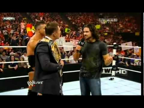 WWE Raw 20 Dec 2010 in HD - Part 1