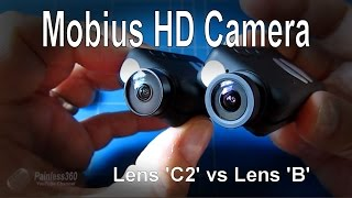 Mobius HD FPV Camera - Comparing the C2 lens to the B lens (supplied by Banggood.com)