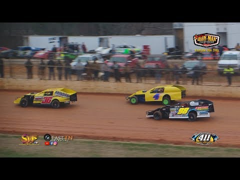 Iron Man Modified | 411 Motor Speedway | 8th Annual Hangover | 12-30-17