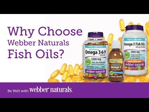 Webber Naturals® Omega-3 [Canada's #1 Selling Brand]
