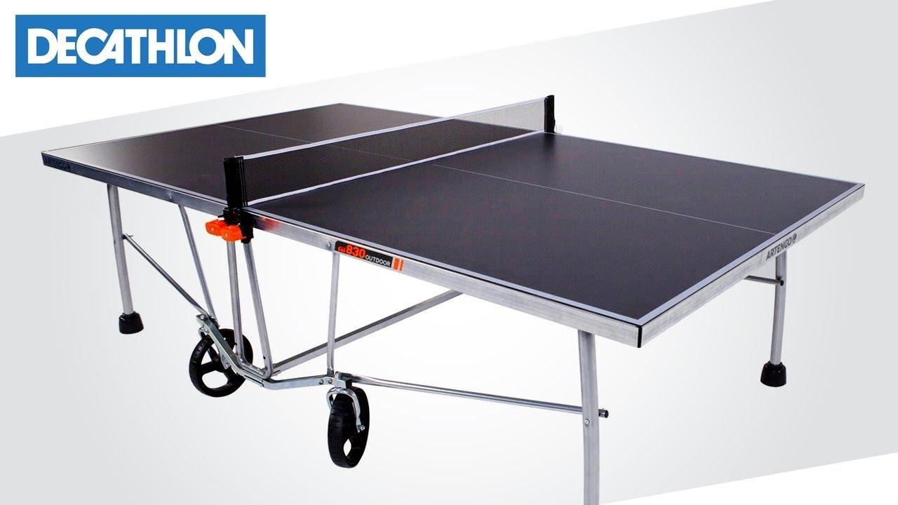 c5f09d024 Come montare il tavolo free Ping Pong PPT 530 di Artengo