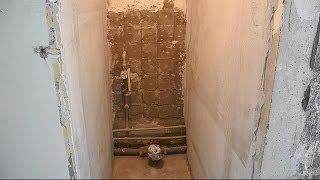 Делаем короб в туалете ч.1