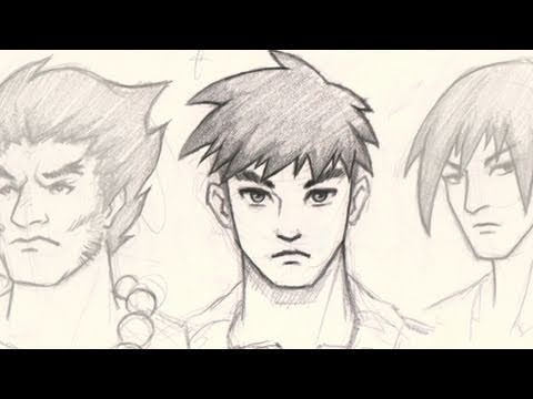 how to draw manga male characters pdf