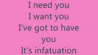 infatuation - jonas brothers lyrics
