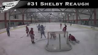 2018-2019 #31 Shelby Reaugh GY 2019 Carolina Lady Eagle Highlights