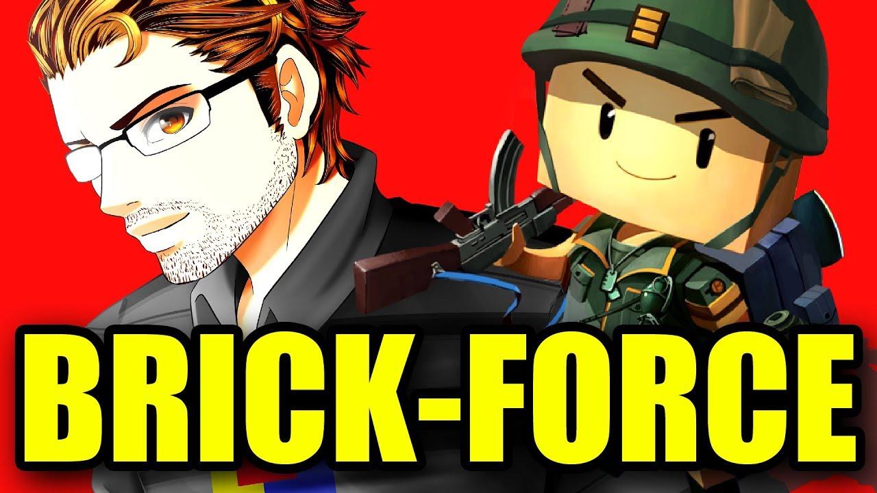 BRICK-FORCE Multiplayer Deathmatch 2!