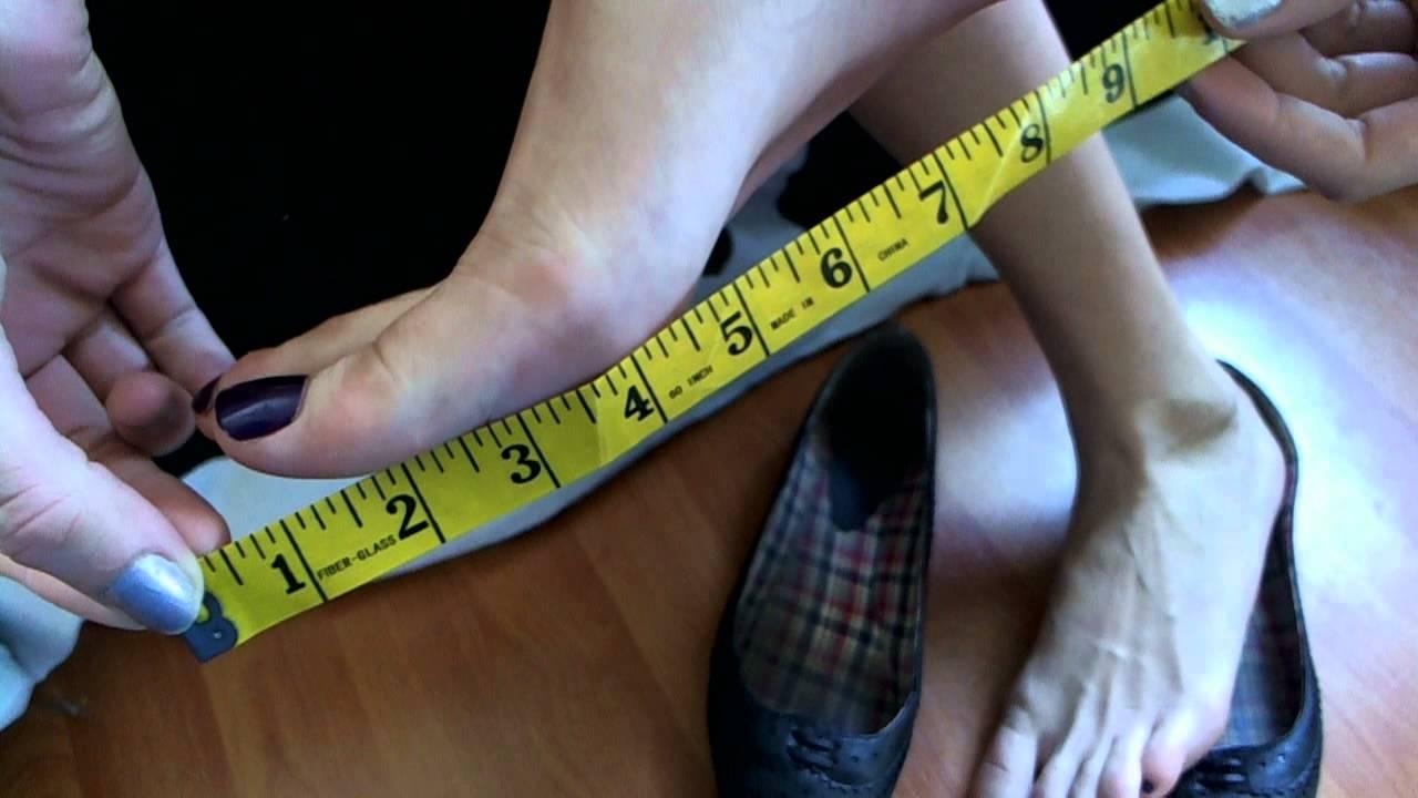 Measuring My Feet