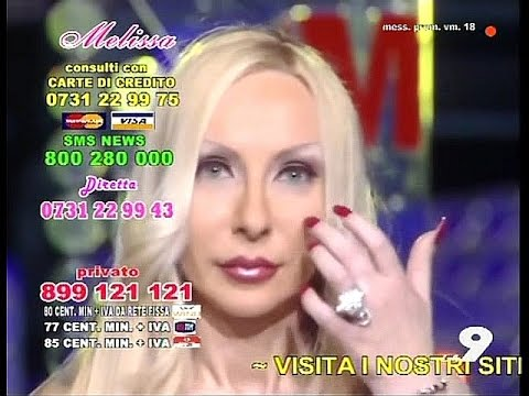 Melissa Italian blue - eyed blonde - fortuneteller with chic long nails