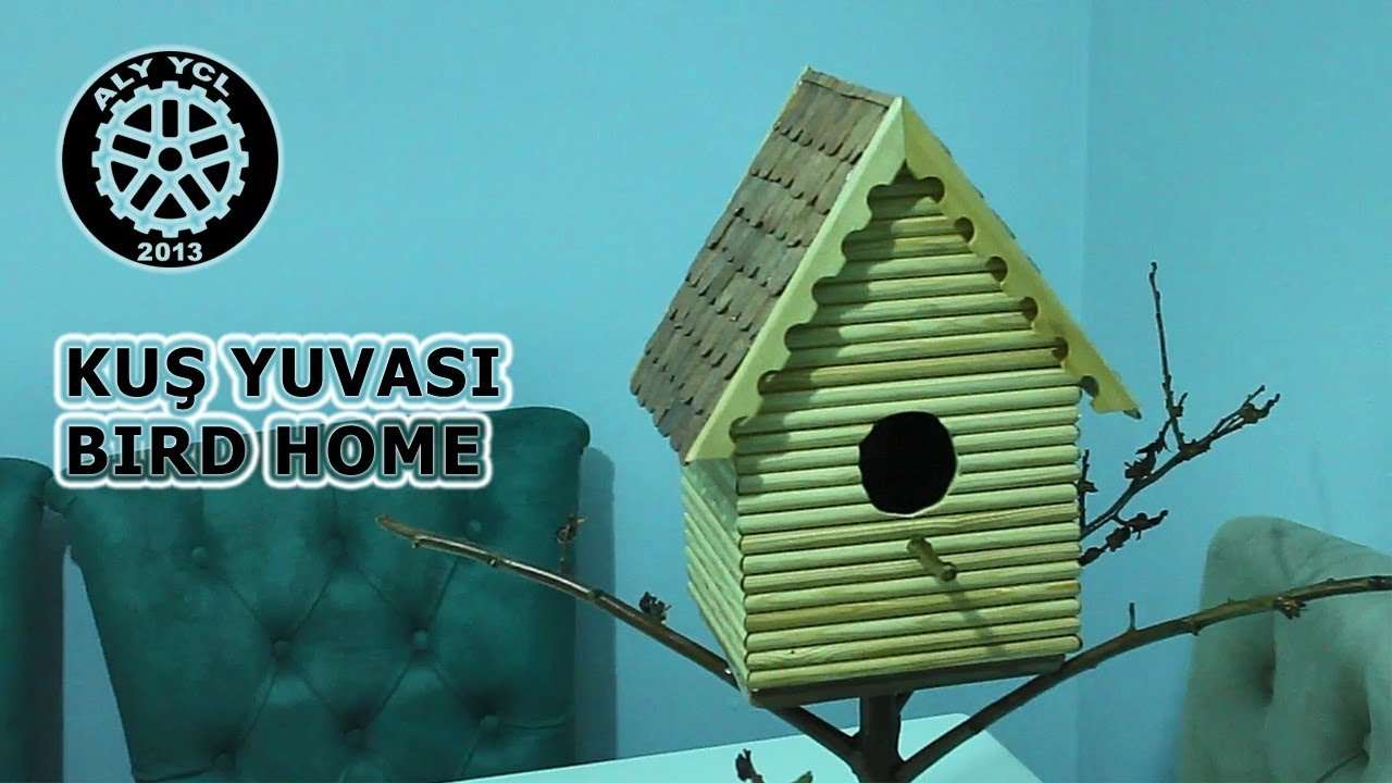Kus Yuvasi Yapimi Making The Bird Home Youtube