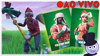 🔴 FORTNITE - France CHRISTMAS SKINS BACK IN STORE!! Cadeau LIVESTREAM! Codigo