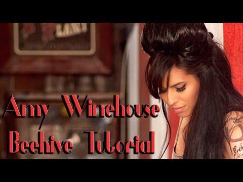 Amy Winehouse Beehive Tutorial