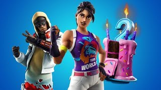 Fortnite 2nd Birthday Event // 270 Victoires // Fortnite Saison 10 Battle Pass Giveaway Enter Now