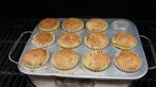 How To Make Cranberry Orange Muffins On A Broil King Baking Stone Grill On The Bbq